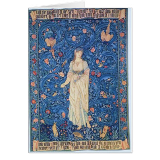 Flora Goddess of Flowers Greeting Card