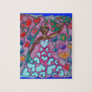 Flora in the Garden with Love Jigsaw Puzzle