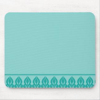 Flora Mousepad-Teal/Teal Mouse Mat