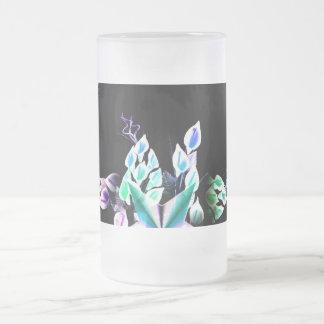 Flora-mug Frosted Glass Mug