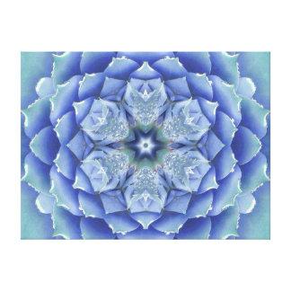 Flora Muse Mandala Canvas Print
