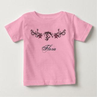 Flora name t shirt