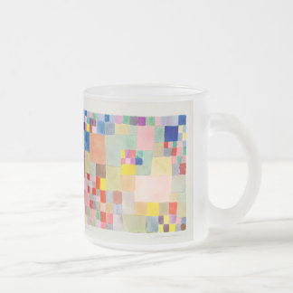 Flora ON sand and Paul Klee Frosted Glass Mug