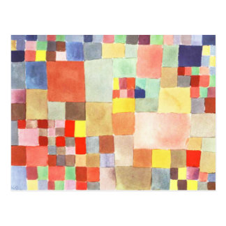 Flora on Sand by Paul Klee Postcard