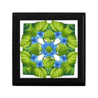 Flora pattern keepsake boxes