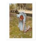 Flora - Sir Lawrence Alma-Tadema postcard