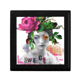 Flora Sweet Small Square Gift Box