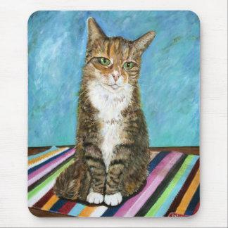 Flora the cat mouse mat