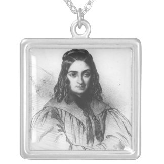 Flora Tristan Silver Plated Necklace