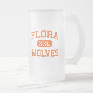 Flora - Wolves - High School - Flora Illinois Mugs