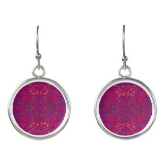 Floradore - Fuchsia Earrings