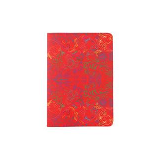 Floradore - Red Passport Holder