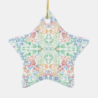 Floradore - White Christmas Ornament