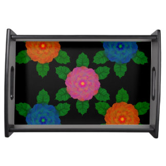 Floral1103 Serving Tray
