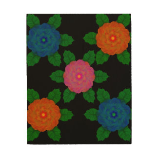 Floral1103 Wood Wall Art