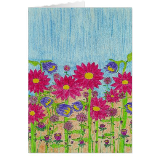 Floral 1 card