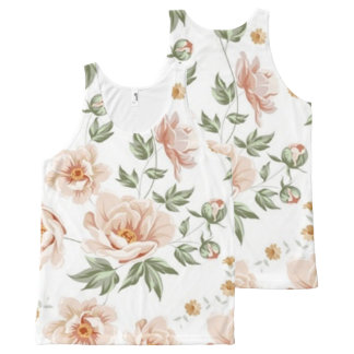 floral 30 All-Over print tank top