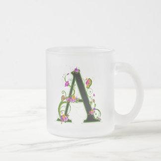 Floral A Coffee Mug