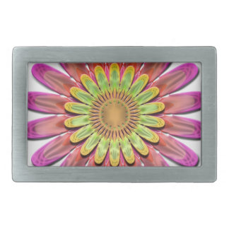 Floral abstract. belt buckle