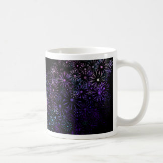 Floral abstract. coffee mug