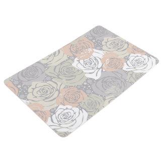 Floral Abstract Design Floor Mat
