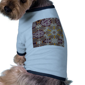 Floral abstract pet clothes