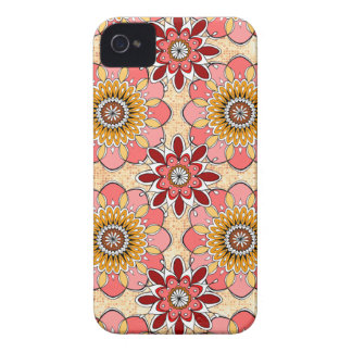 Floral Abstract iPhone 4 Case by Case-Mate