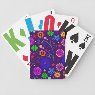 Floral Abstract Playing cards
