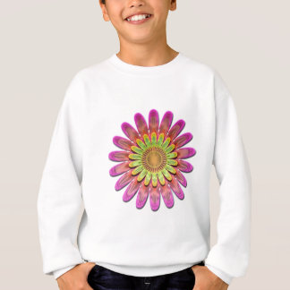 Floral abstract. sweatshirt
