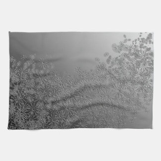 Floral abstract. tea towels