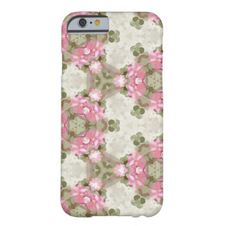 Floral Abstract Vintage Inspired Botanical Pattern Barely There iPhone 6 Case