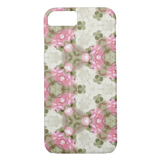 Floral Abstract Vintage Inspired Botanical Pattern iPhone 8/7 Case