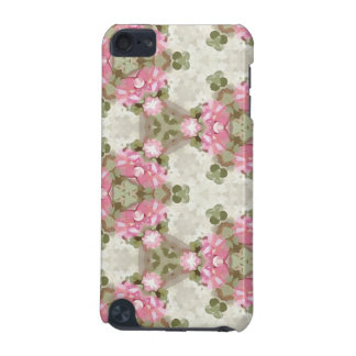 Floral Abstract Vintage Inspired Botanical Pattern iPod Touch (5th Generation) Covers