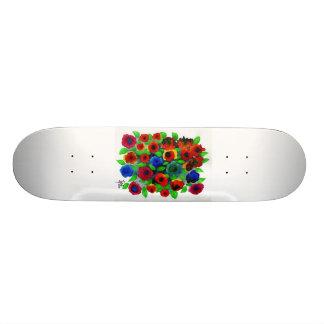 Floral Abundance Skateboard