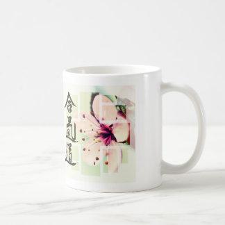 Floral Aikido Kanji Mug