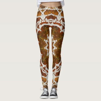 Floral Amber. Leggings