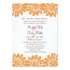 Floral and Modern Wedding Invitation
