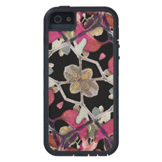 Floral Arabesque Decorative Artwork iPhone 5/5S Covers