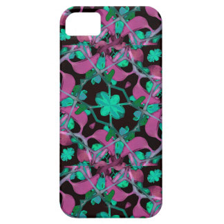 Floral Arabesque Pattern Case For iPhone 5/5S