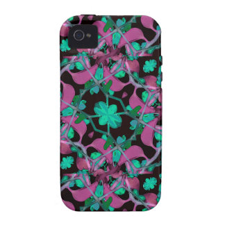 Floral Arabesque Pattern Vibe iPhone 4 Case