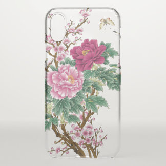 floral arrangements pink Cleary iPhone X Case