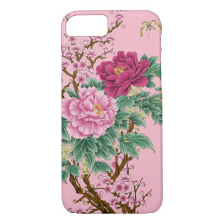 floral arrangements pink romantic iPhone Case