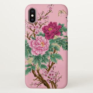 floral arrangements pink romantic iPhone X Case