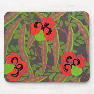 Floral Art Deco Mousepad