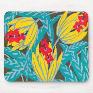 Floral Art Deco Mousepad #2