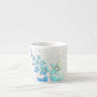Floral Art Espresso Mugs
