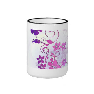Floral Art Coffee Mug
