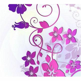 Floral Art Photo Cut Outs