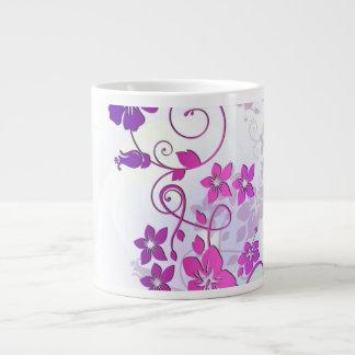 Floral Art Extra Large Mugs