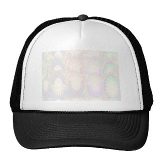 Floral Artistic Patch - Easy Add Text Image 1 Trucker Hat